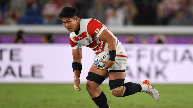 Japan's Kazuki Himeno has been in sensational form this World Cup. See who joins him in our pool stage XV below...