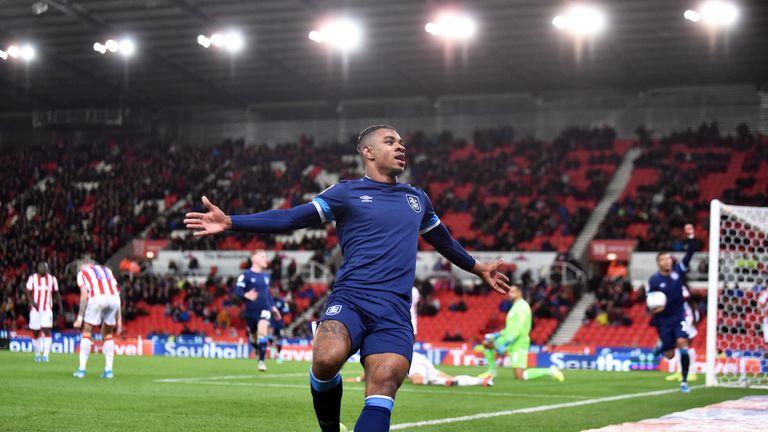 Juninho Bacuna's 82nd-minute goal gave fellow strugglers Huddersfield a 1-0 win at Stoke.