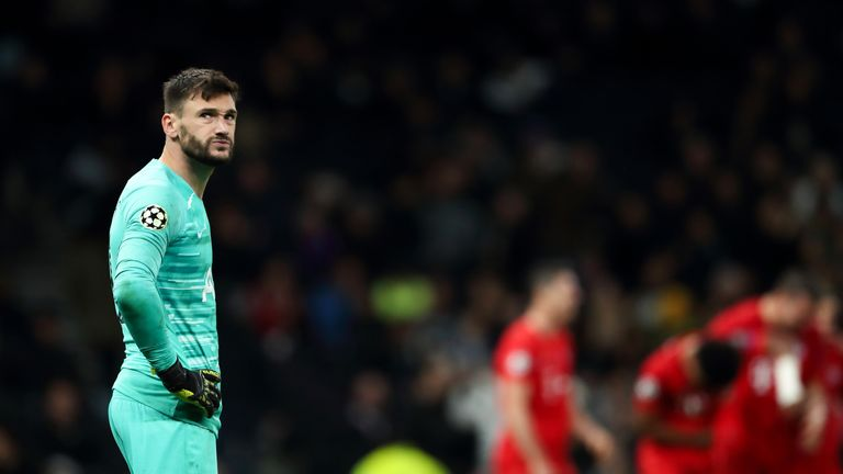 Hugo Lloris dislocated his elbow and sustained ligament damage against Brighton last month