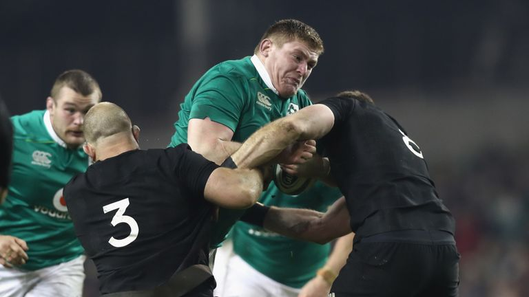 Ireland and New Zealand will meet in the last eight on October 19