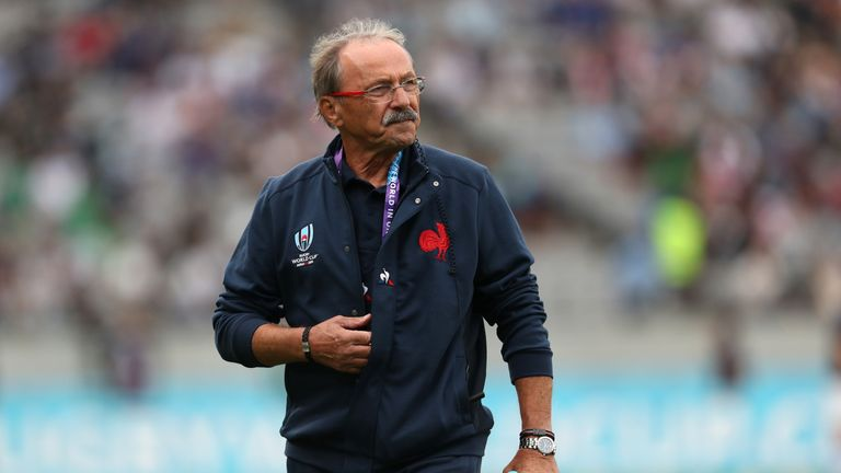 Jacques Brunel has been in charge of the French side since 2017