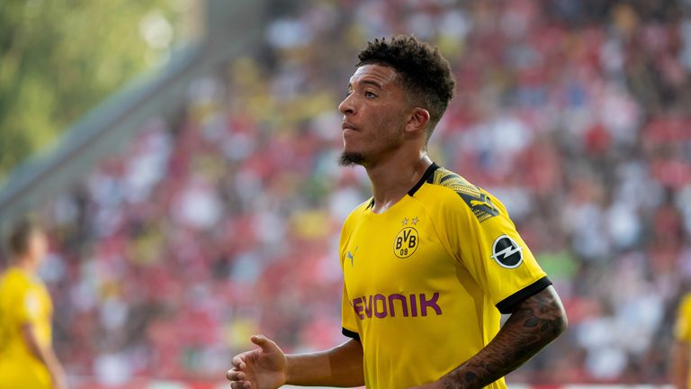 Man Utd issued positive Jadon Sancho transfer update by Borussia Dortmund chief