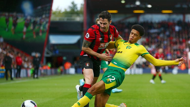 Lewis will be assessed by Norwich medical staff before they play Everton on Saturday