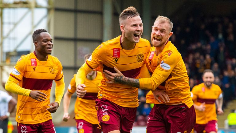 Motherwell are third in the Premiership