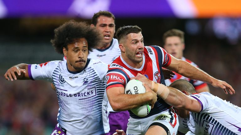 Roosters full-back James Tedesco was the star man in the NRL in 2019