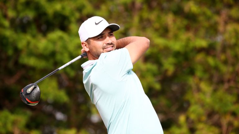 Jason Day is just two back in his first start since August