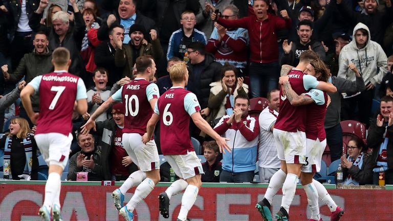 Hendrick's goal secured a third home win of the season for Burnley