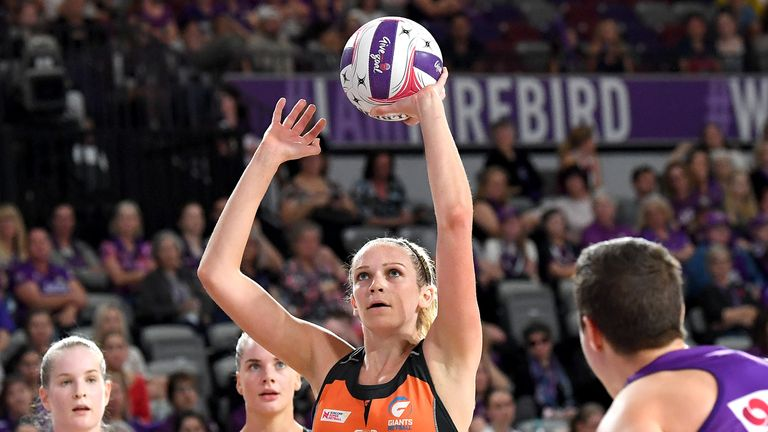 Harten made her debut in Australia as a GIANT in 2017