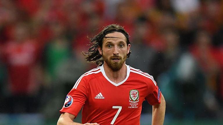 Joe Allen will miss Wales' next qualifier through suspension