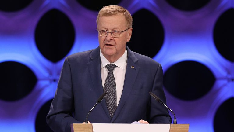 John Coates is the IOC's Coordination Commission chief for the Tokyo Games