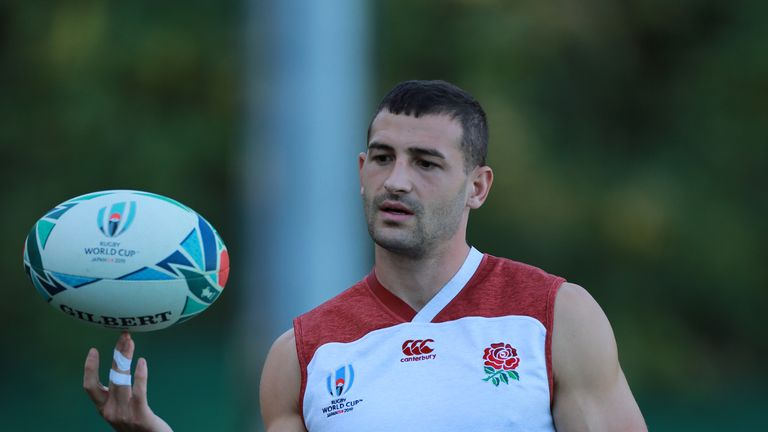 Jonny May scored two tries in England's quarter-final win against Australia