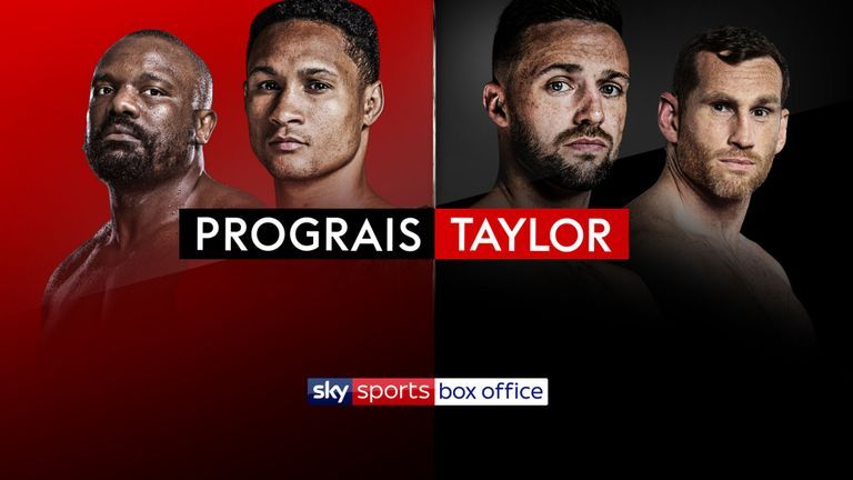 Taylor against Prograis and Chisora versus Price is live on Sky Sports Box Office