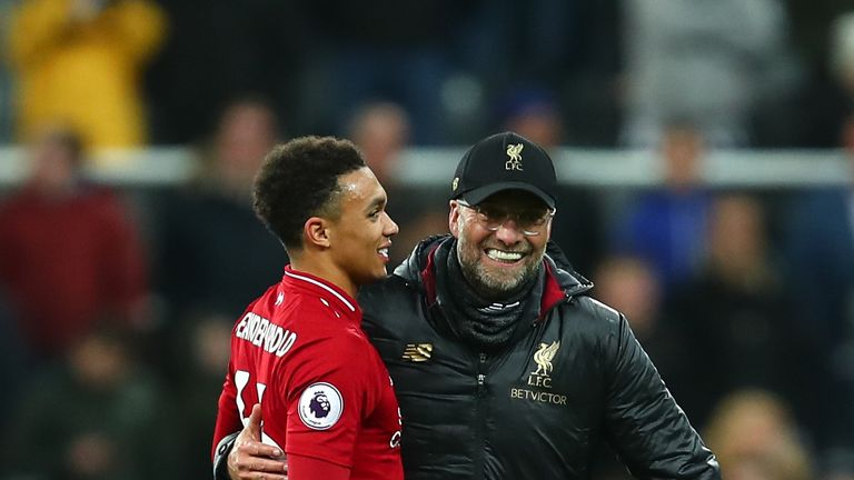 Trent Alexander-Arnold has played for Liverpool 97 times under Jurgen Klopp