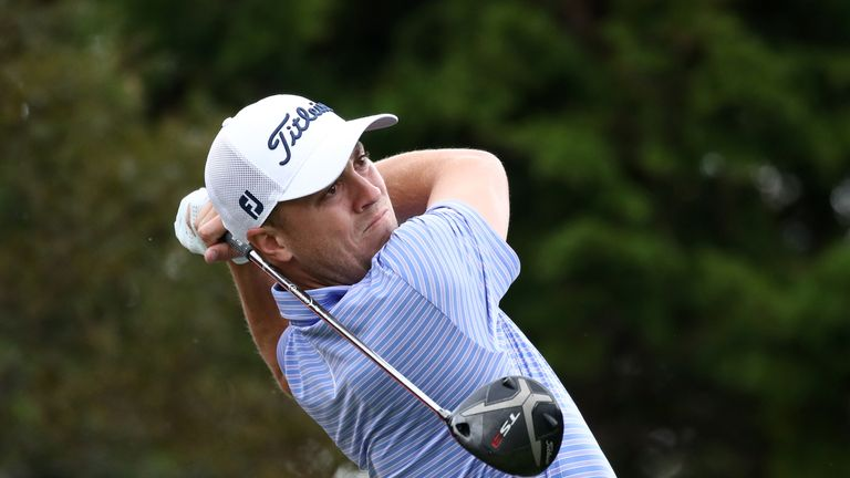 Thomas, Lee tied for lead at CJ Cup