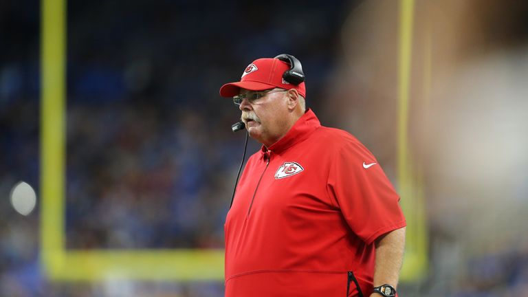 Head coach Andy Reid said Mahomes' fitness will be monitored
