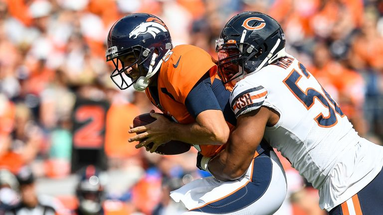 Mack takes down Joe Flacco in Denver