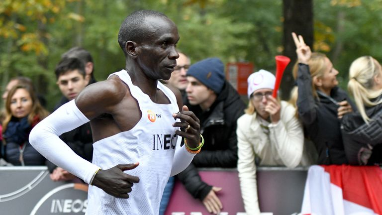 Kipchoge was named World Athlete of the year