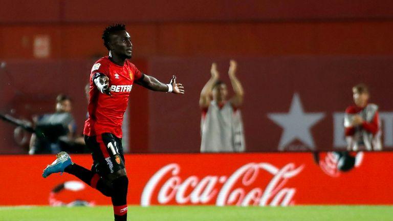 Lago Junior's goal was his first ever in La Liga