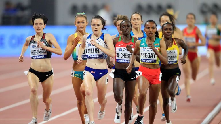Laura Muir finished fourth at the 2017 World Championships in London