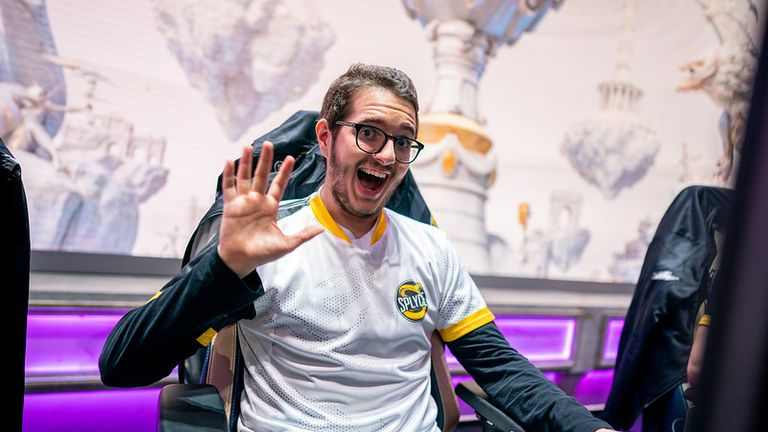 Splyce became the first EU team to win on home soil at Worlds this year (Credit: Riot Games)
