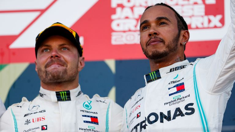Hamilton gets sixth title bid off to flying start in Mexico practice