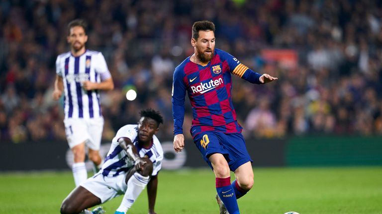 The Barcelona captain scored his third and fourth league goals of the season on Tuesday night
