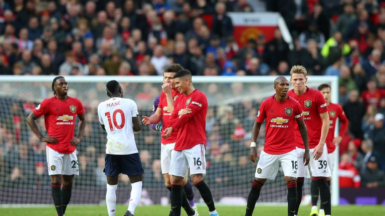 Manchester United frustrated Liverpool at Old Trafford