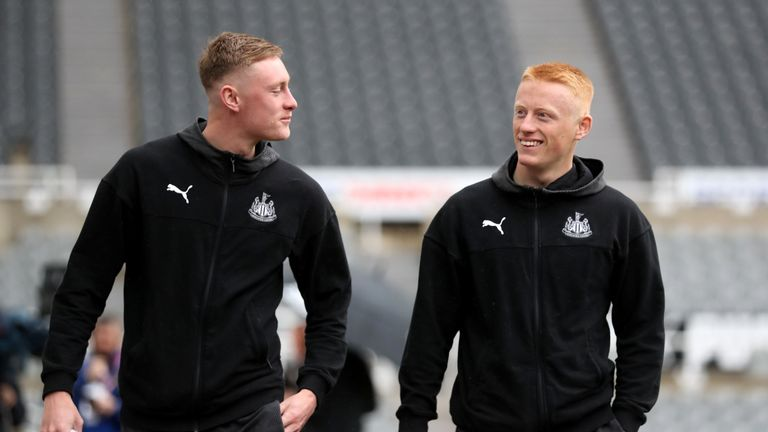 Sean (left) and Matty Longstaff's Newcastle careers are in doubt