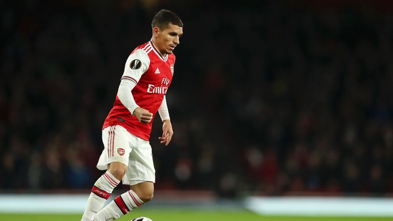Lucas Torreira played in a more advanced role in Arsenal's 3-2 win over Vitoria on Thursday