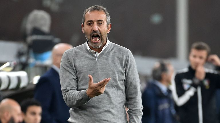 Marco Giampaolo was only appointed AC Milan manager in June