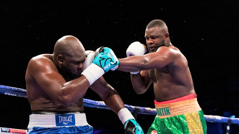 Bakole unloaded a string of punches to halt Johnson