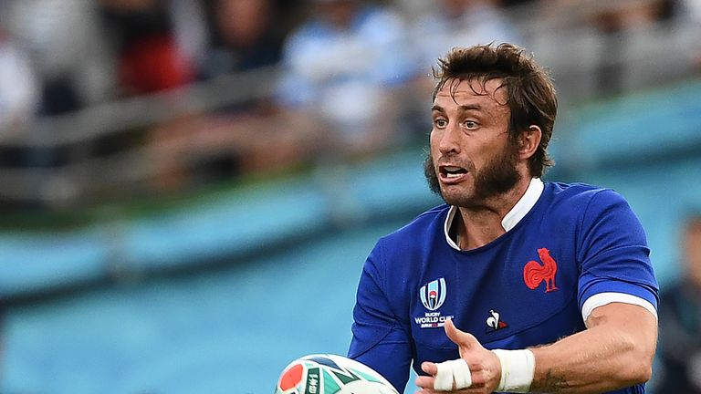 Maxime Medard is the only player in Jacques Brunel's squad left from the France team which won against Wales in the World Cup back in 2011