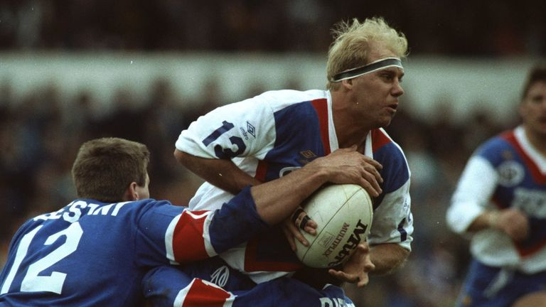 The late Mike Gregory was one of Phil Clarke's Lions team-mates in 1990