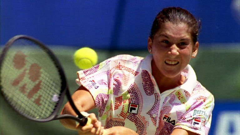 Monica Seles was world No 1 in 1993 until she was stabbed in a horrific attack during a match in April