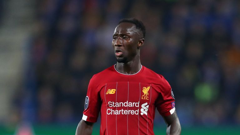 Liverpool will check on the fitness of Naby Keita in the run-up to kick-off