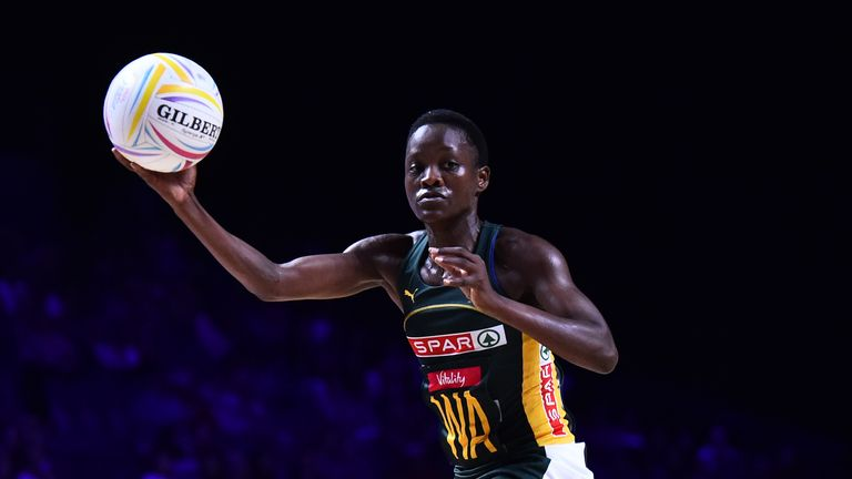 Bongiwe Msomi continues to lead South Africa while taking on a role as coach and netball manager at the University of Johannesburg