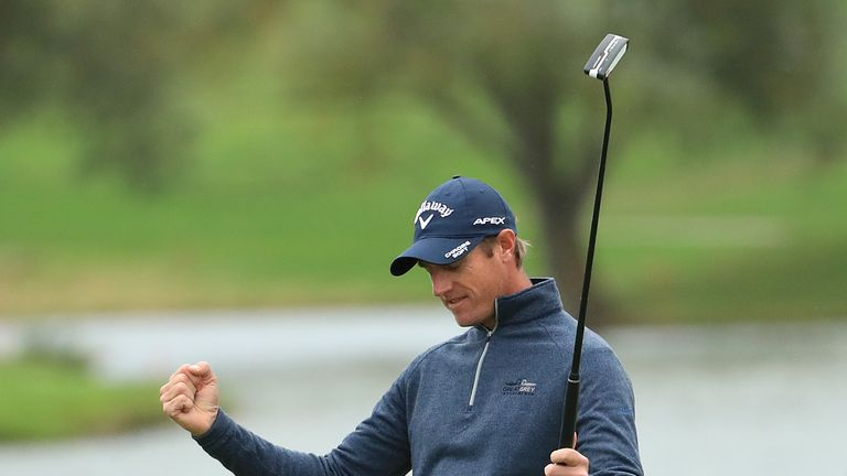 Nicolas Colsaerts claimed a one-shot victory in Paris