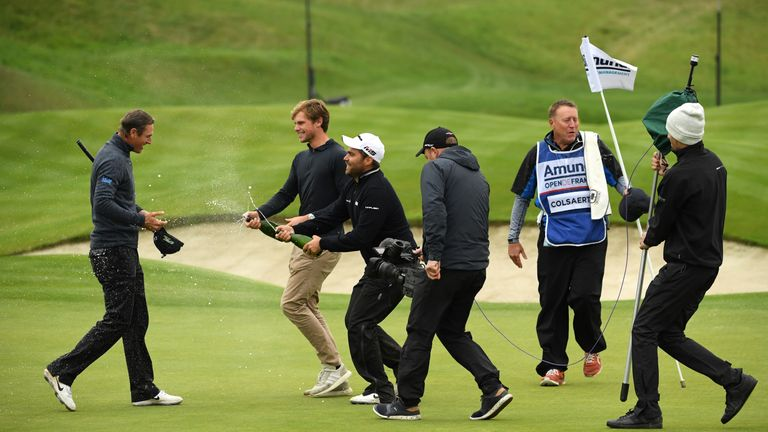 Nicolas Colsaerts struggled to hold back the tears after securing a return to the winner's circle at the Open de France.