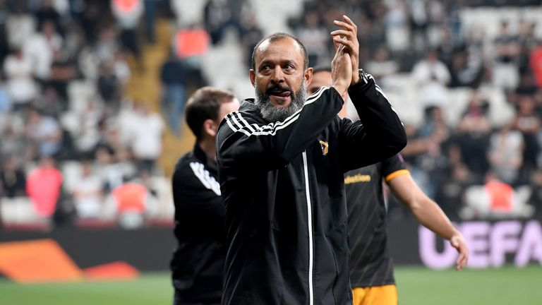 Nuno Espirito Santo was pleased with the effort from his side, but said the performance could have been better