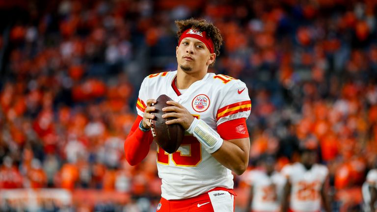 Patrick Mahomes sustained his injury on October17