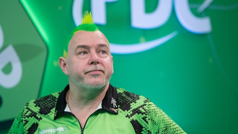 Peter Wright missed three match darts when leading 10-7