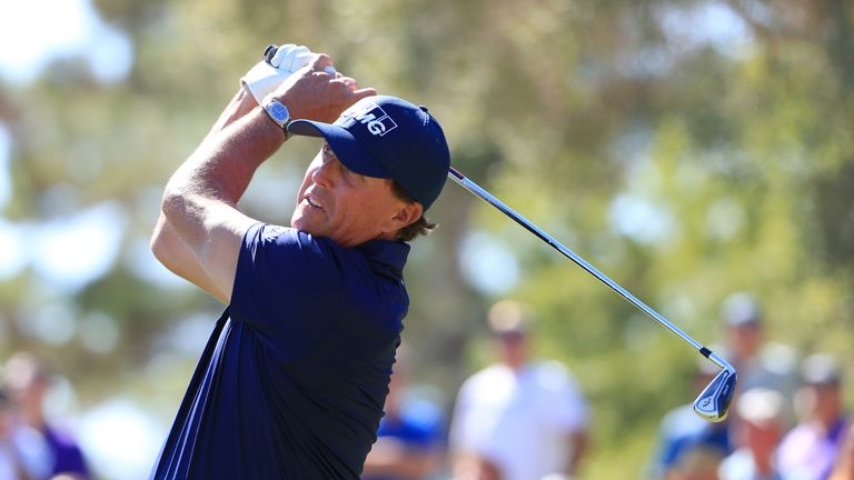 Phil Mickelson opened with a seven birdie 65