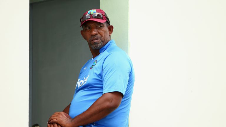 Phil Simmons has become West Indies coach for a second time