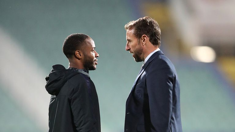 Gareth Southgate has taken the decision to drop Sterling for England's match against Montenegro