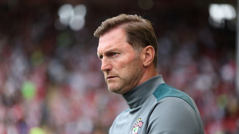 Ralph Hasenhuttl saw his Saints side squander a great chance to defeat a 10-man Tottenham side last Saturday
