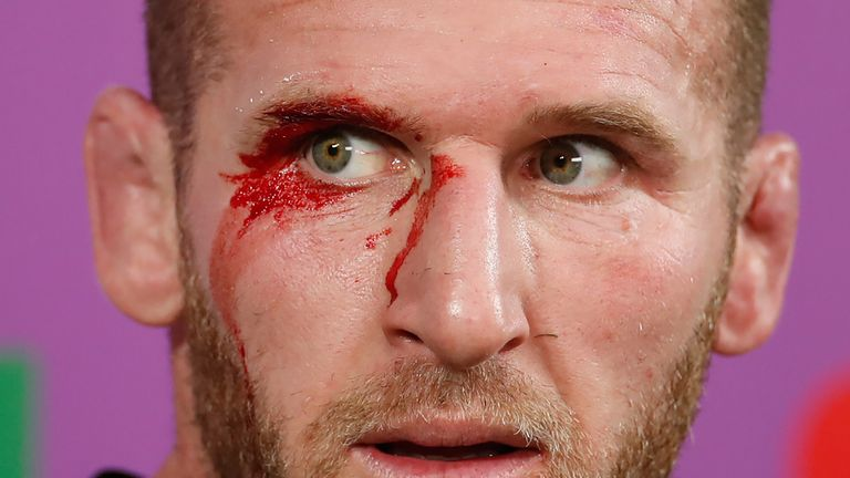Kieran Read and the All Blacks were rattled by England's start to the Test