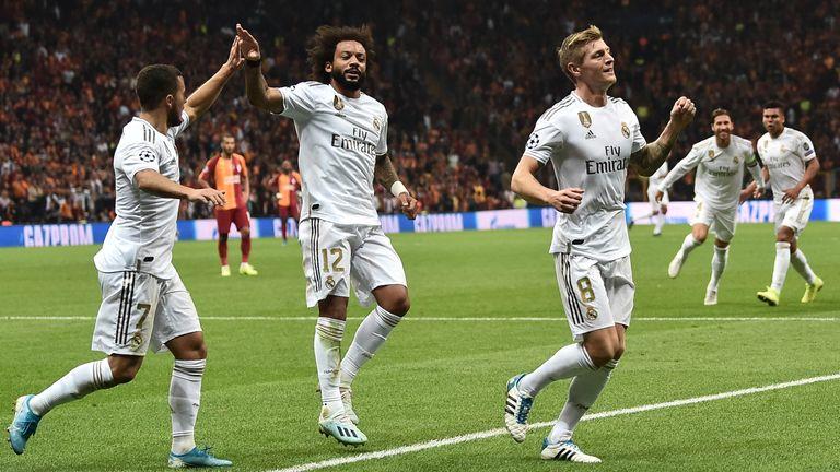 Champions League round-up: Real Madrid ease Zinedine Zidane pressure | Football News |