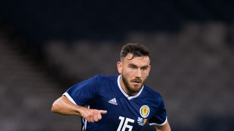 Robert Snodgrass featured 28 times for Scotland after making his debut in 2011