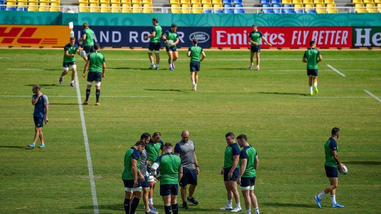 Ireland reach RWC quarterfinals with 47-5 win over Samoa