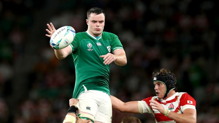 James Ryan has won 21 caps for Ireland